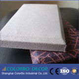 Panneau de mur acoustique de tissu fonctionnel de panneau de Gllass de fibre