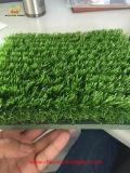 Erba sintetica di gioco del calcio senza sabbia e gomma di Infilling