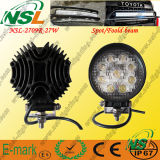 27W LED Work Light, 9PCS*3W Epsitar LED Light, 2295lm LED Work Light per Trucks