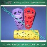 La gomma di silicone si è sporta profilo e parte di modellatura