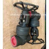 Soupape à vanne en acier modifiée à haute pression d'extrémité de soudure de joint d'étanchéité