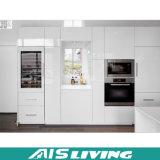 Mobília Finished elevada do gabinete de cozinha da pintura de lustro (AIS-K161)