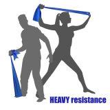 Da faixa elástica da resistência da ioga da aptidão faixa feita sob encomenda do exercício de resistência/faixa do esticão