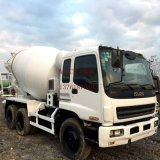 Neues-Battery-Attached Max-9m3-Drum 10PE1-Enigne-Strong-Power Isuzu Konkret-Mixer-Truck