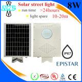 1つの統合された太陽街灯12V太陽30W LEDの街灯のフィリップスすべて