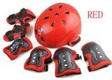 아이 헬멧과 패드 프로텍터 세트, 아이들 자전거 방어적인 기어, 도매 아이 팔꿈치 프로텍터, 스키 헬멧, 방어적인 패드 가격을%s 스케이트를 타는 무릎 패드