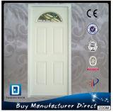 Half Moon Lite Glass Inserted Arch American Prehung Steel Door