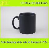 De milieuvriendelijke 20oz Koppen van de Mok van de Steen Zwarte Ceramische