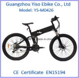36V、10.4ahはFoldable山Eの電気バイクにモーターを備えた