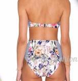 Горячая продавая девушка без бретелек Бикини Swimwear изготовленный на заказ печатание 2017 сексуальная
