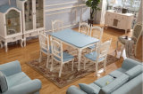 Style europeu Wooden Dining Set Made por Nice Color (M-X1099)