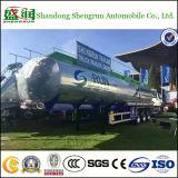 半ASMEの南アフリカ共和国の標準アルミ合金の燃料タンクのトレーラー