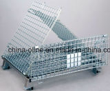 Gaiola do armazenamento do engranzamento de fio de aço (1000*800*840)
