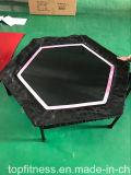 ハンドルが付いている適性の六角形の小型トランポリン