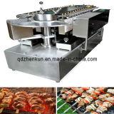 De elektrische Machine van de Grill van Yakitori van de Machine van Gril van het Vlees van het Gas Model Roterende