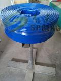 펌프에 의하여 놓이는 편평한 관개 PVC 플라스틱 관