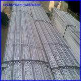 Permanentes Aufbau-Baumaterial/versah hoch Metalllatte mit Rippen