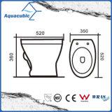 Toalete nivelado de duas partes do Washdown único (ACT6840)