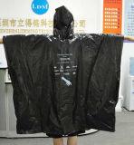 Плащпалата дождя ЕВА популярной устранимой цены по прейскуранту завода-изготовителя плащпалаты LDPE устранимая для повелительниц/людей/малышей