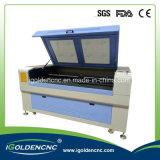 CO2 Laser-Stich 1390 und Ausschnitt-Maschine für Nichtmetall Matarial