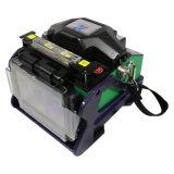 Encoladora de fibra óptica certificada CE/ISO de la fusión