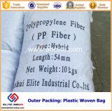 4 mm-30 mm de polipropileno de construcción monofilamento PP Fiber para refuerzo de hormigón