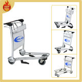 스테인리스 Steel 또는 Aluminum Airport Luggage Trolley Cart