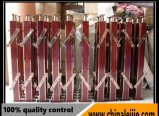 Vente en gros d'acier inoxydable quatre pieds de balustrade de matériel