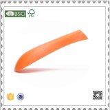 Kundenspezifische orange Plastikkleiderbügel-Klage-Aufhängungen für System-Bildschirmanzeige