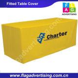 Poliéster 6FT ou tampa de tabela cabida 8FT para o indicador ou a exposição