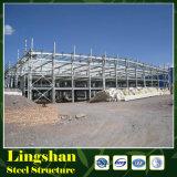 Относящое к окружающей среде Prefab светлое здание фабрики/пакгауза стальной структуры
