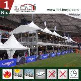 Zwei Fußboden-doppelter Decker-Zelt für Festival-im Freienereignis