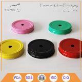 Regelmäßige Mund-Maurer-Glas-Kappen, Weißblech-Kappen, Edelstahl-Schutzkappe
