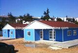 Casa ligera de la estructura de acero de Pefabricated con el panel Dg9-017 de Sanwich)