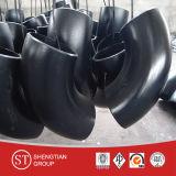 Codo de las guarniciones del tubo sin soldadura del carbón