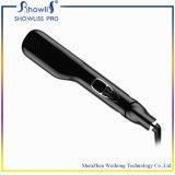 Raddrizzatore all'ingrosso dei capelli della spazzola del vapore dell'affissione a cristalli liquidi di buona qualità