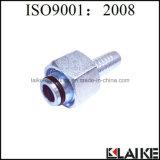 (20411) Hembra métrica 24 guarniciones que prensan de la manguera hidráulica del grado