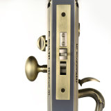 Zinc Alloy에 있는 단 하나 Cylinder Mortise Entrance Handleset Lock