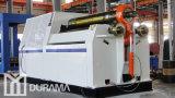 Prensa de batir simétrica con el resbalón Rolls de /Powered de tres rodillos/la dobladora de la placa de la prensa de batir de la placa/la máquina de la carpeta