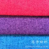 Tissu de toile de basin à la maison de textile pour des couvertures de sofa