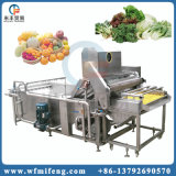 Vehículo de alta presión y fruta de la burbuja de aire que se lavan aclarando la máquina