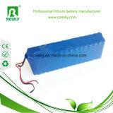 pack batterie de lithium de 24V 6ah 6.6ah pour la lanterne solaire/scooter solaire de bloc d'alimentation de ventilateur
