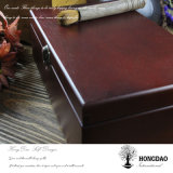 Doos van de Opslag van de Juwelen van de Douane van Hongdao Retro Houten voor Sale_L