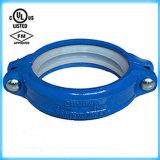 Aprovaçã0 Grooved do acoplamento flexível do ferro Nodular 219.1) FM/UL (