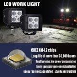 La luz del trabajo del LED con el mantiene de igualación IP69k del diseño de la patente del respiradero de la presión (respiradero) impermeabiliza y ventila Batance