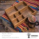 Cadre de empaquetage en bois de Hongdao avec le cru Design_D