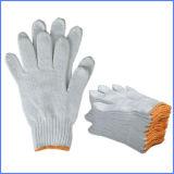 高品質の労働者のための自然で白い綿作業手袋