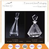 Bottiglia eccellente del rum di vetro di silice in 840ml con sughero