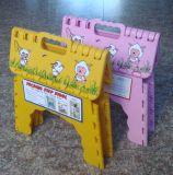 子供の方法カスタム屋外のプラスチック折る漫画デザイン腰掛け