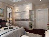 Moderne hölzerne Panel-Wandschrank-Garderobe (zy-025)